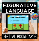 Distance Learning - Spring Figurative Language BOOM Cards