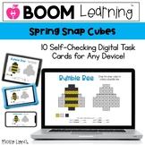 Spring Snap Cube - Digital Snap Cube Activities | BOOM Car