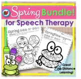 Distance Learning Earth Day Spring Speech Therapy Bundle |