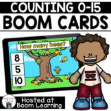 Distance Learning- Spring Themed Counting Bees (0-15) Boom