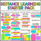 Distance Learning Starter Pack | for Google Slides, PowerP
