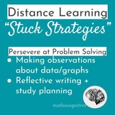 Distance Learning: Stuck Strategies - Data and Reflection