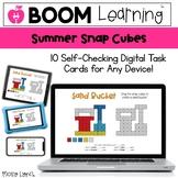 Summer Snap Cube - Digital Snap Cube Activities   BOOM Car