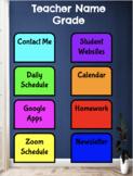 Distance Learning Teacher App