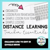 Distance Learning Teacher Essentials - Editable Daily Less