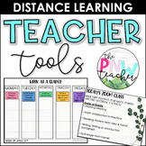Distance Learning Teacher Tools