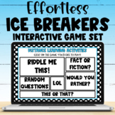 Distance Learning Team Building Games Interactive PDF for