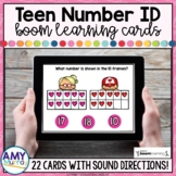 Teen Number Identification Boom Cards ™   Teen Number Task Cards