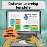 Distance Learning Template for Google