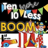 Distance Learning:  Ten More Ten Less BOOM Cards