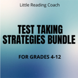 Distance Learning Test Taking Strategies Bundle