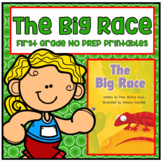 Distance Learning The Big Race First Grade NO PREP Supplem