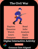 Distance Learning: The Civil War Hyperdoc: Digital Interactive Activity