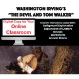 """Distance Learning: """"The Devil and Tom Walker"""" Instructiona"""