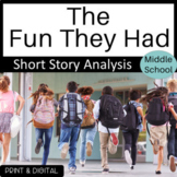 Distance Learning The Fun They Had Short Story Analysis an