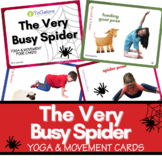 Distance Learning: The Very Busy Spider Yoga & Movement Po