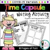 Distance Learning: Time Capsule Writing Journal. COVID Version