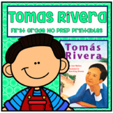 Distance Learning Tomas Rivera First Grade NO PREP Supplem