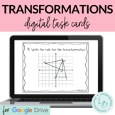 Translations, Reflections, Rotations Digital Task Cards