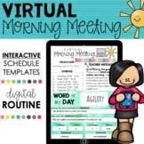 Distance Learning: VIRTUAL MORNING MEETING | Google Classroom