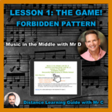 Distance S-Cubed Lesson 1-The Game-Forbidden Pattern