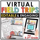 Virtual Field Trips - EDITABLE | Printable | Digital | Dis