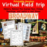 Distance Learning Virtual Field trip to Broadway Chorus Band Art