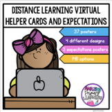 Distance Learning   Virtual Helper Posters   Expectations