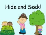 Distance Learning Virtual Hide and Seek! (Google Slides)
