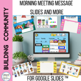 Morning Meeting Slides and More for Google Slides™Virtual
