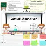 Distance Learning - Virtual Science Fair