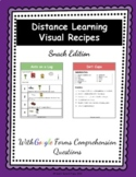 Distance Learning Visual Recipes Snack Edition