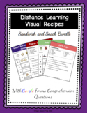Distance Learning Visual Recipes Snack and Sandwich Bundle