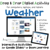 Distance Learning: Weather Digital Interactive Activities