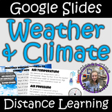 Distance Learning: Weather and Climate (Google Slides)