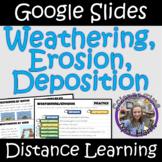 Distance Learning: Weathering, Erosion, Deposition (Google