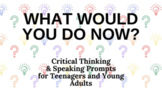Distance Learning: What Would You Do for Teens and Young Adults Google Slides