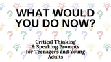 Distance Learning: What Would You Do for Teens and Young Adults PowerPoint
