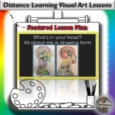 Distance Learning What's In Your Head? All About Me Visual