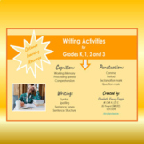 Distance Learning: Writing Activities for Grades K, 1, 2, & 3