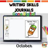 Distance Learning| Writing Skills Mini-Lesson Journals for