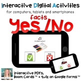 Distance Learning ⋅ Yes / No Questions ⋅ Interactive PDF a