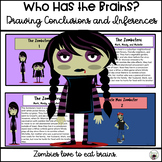 Zombie Drawing Conclusions and Inferences | Distance Learning