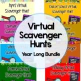 Distance Learning Zoom Virtual Scavenger Hunt Game (EDITAB