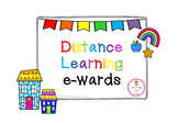 Distance Learning 'e-wards'