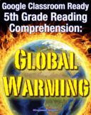 Distance Learning for Google Classroom: 5th Grade Reading