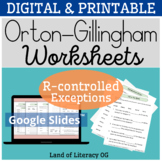 DIGITAL Worksheets: Wilson 8.4 Aligned (R-controlled rr exception) Distance OG
