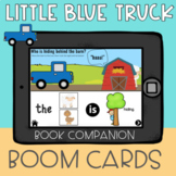 Little Blue Truck Speech Therapy Boom Cards Book Companion
