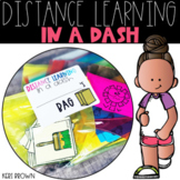 Distance Learning in a Dash - Take Home Bags for Kindergarten