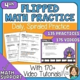 Distance Learning or Face2Face - 4th grade math Daily Spir